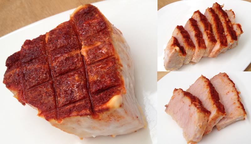 Pescespada grigliato con la spezia rossa Tandoori.