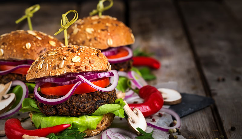 Hamburger vegetariano ricette - GRILIOO