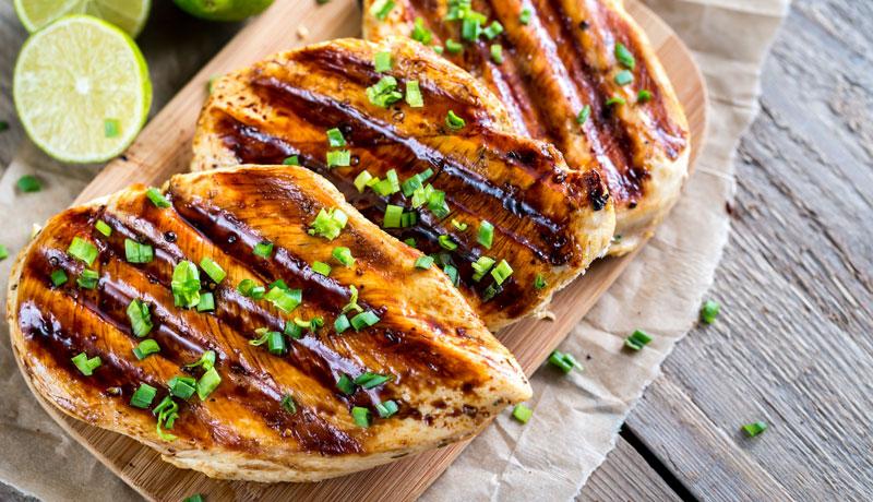 Petto di Pollo alla griglia ricetta - GRILIOO
