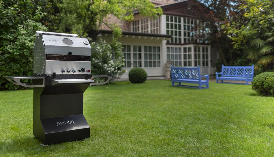 Grilioo barbecue no fumo, per grigliate tutto l'anno