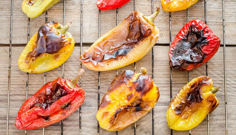 Peperoni grigliati ricette - GRILIOO